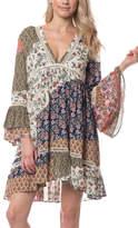Olivaceous Boho Short Dress