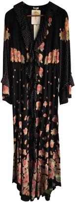 Vilshenko Black Silk Dresses