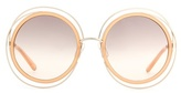 Chloé Carlina round sunglasses