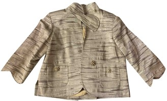 Matthew Williamson Gold Cotton Jacket for Women