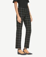 Ann Taylor The Tall Ankle Pant In Windowpane - Devin Fit