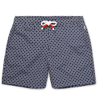 Orlebar Brown Dania Mid-Length Printed Swim Shorts