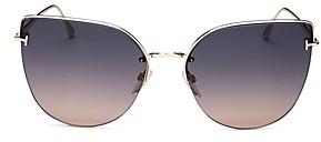 Tom Ford Women's Cat Eye Sunglasses, 60mm