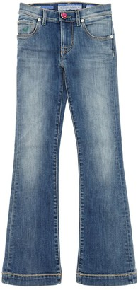 Jacob Cohen Flared Stretch Denim Jeans