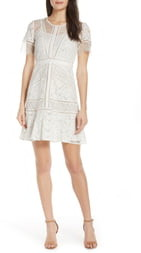 French Connection Chante Lace Minidress