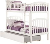 Atlantic Kids' Richland White Twin-over-twin Bunk Bed with Urban Trundle
