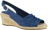 Easy Street Shoes Women's Kindly Espadrille Slingback