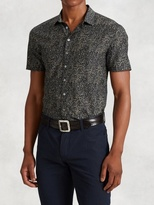 John Varvatos Cotton Silk Short Sleeve Shirt