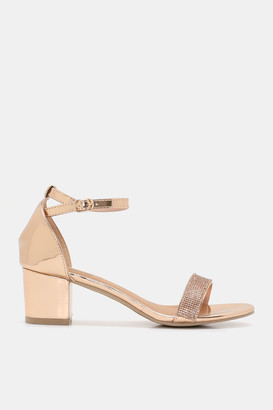 Ardene Metallic D'Orsay Sandals