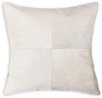 Natural Torino Cowhide Quattro Pillow