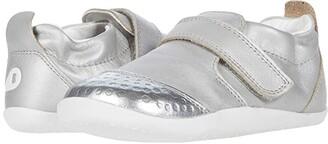 Bobux Xplorer Go (Infant/Toddler) (Silver) Girl's Shoes