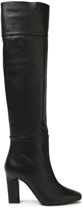 Moschino Leather Knee Boots