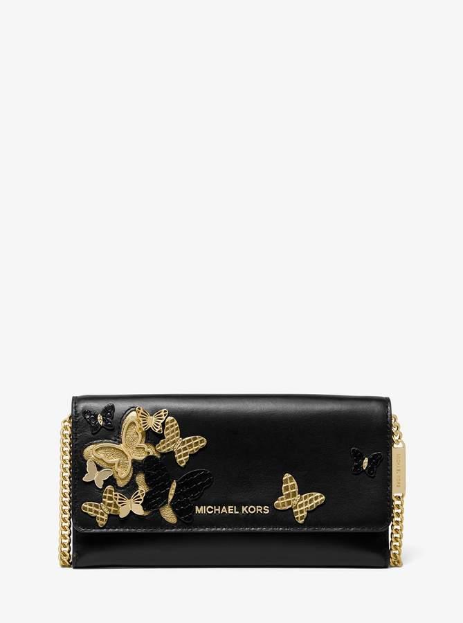 f5ea42bf9213 Michael Kors Black Chain Handbag - ShopStyle