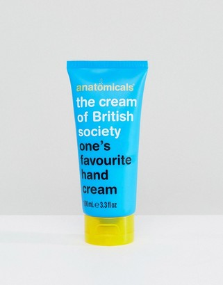 Anatomicals The Cream of British Society White Tea Handcream 100ml-No Colour