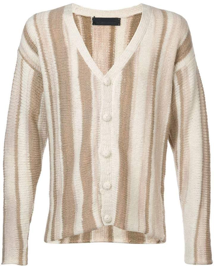 The Elder Statesman cashmere Rolo cardigan