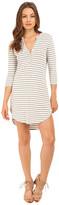 Brigitte Bailey Callie Button Up Striped Dress