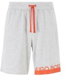 BOSS Jersey pyjama shorts with new-season logo
