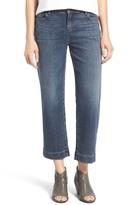 Eileen Fisher Stretch Crop Straight Leg Jeans (Magin)
