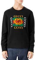 Gucci GucciGhost Logo Crewneck Sweatshirt