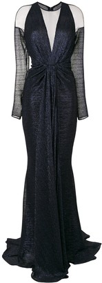 Talbot Runhof Nominee fitted gown