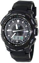 Casio Men's Protrek PRG510-1 Black Rubber Quartz Watch with Dial