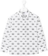 Dolce & Gabbana crowns print shirt