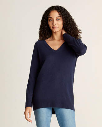 Equipment Asher V-Neck Long Sleeve Cashmere Sweater