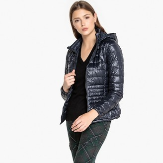 Benetton Down Padded Hooded Jacket with Pockets