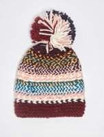 Dorothy Perkins Womens Multi Coloured Meadow Beanie Hat- Multi Colour