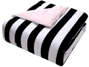 Juicy Couture Cabana Stripe Reversible Comforter Set, 6 Piece, King Bedding