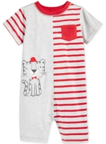 First Impressions Striped Lion Romper, Baby Boys (0-24 months), Created for Macy's