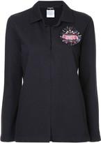 Chanel Pre Owned logo emblem lightweight jacket