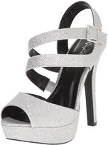 Qupid Women's Gaze-448 Dress Sandal