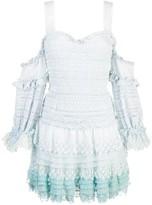 Jonathan Simkhai Ruffled Off-The-Shoulder Dress