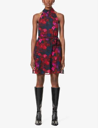 Paige Cayman floral-print crepe midi dress