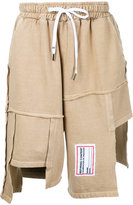 Liam Hodges - Process patchwork shorts - men - Cotton - L