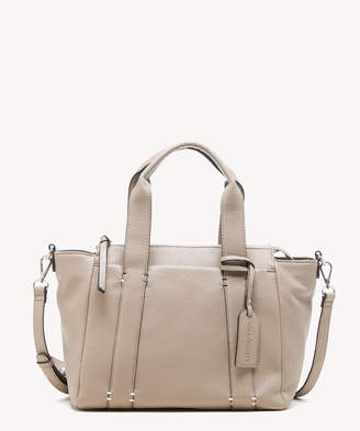 Sole Society Women's Kwaye Satchel Faux Leather In Color: Mushroom Bag From