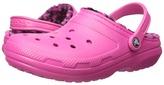 Crocs Classic Lined Pattern Clog