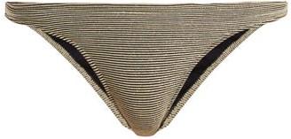 Rochelle Sara Mercer Bikini Briefs - Gold