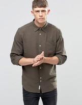 Bellfield Linen Khaki Shirt