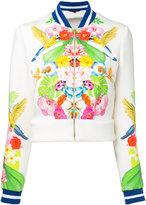 Manish Arora tropical print bomber jacket - women - Nylon/Spandex/Elastane/Rayon - 36