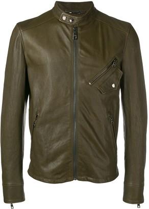 Dolce & Gabbana Zipped-Up Bomber Jacket