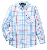 Tommy Hilfiger Hunter Plaid Shirt (Big Boys)