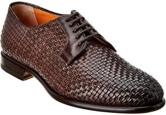 Santoni Leather Oxford