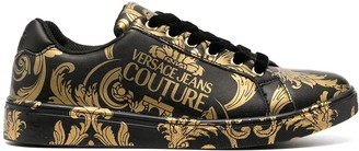 Versace Jeans Couture Baroque Print Sneakers