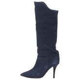 Isabel Marant Blue Cloth Boots