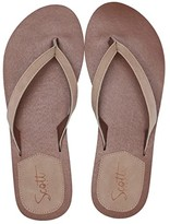 Scott Hawaii Mohala (Beige) Women's Sandals