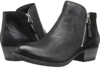 Miz Mooz Bangkok (Black Leather) Women's Boots