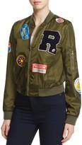 Bagatelle Varsity Letter Patch Print Bomber Jacket