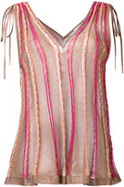 M Missoni bow detail top